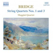 Bridge: String Quartets Nos. 1 and 3 - CD