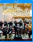 Magdalena Kožená, Berliner Philharmoniker, Sir Simon Rattle: Europakonzert 2013 from Prague - BluRay
