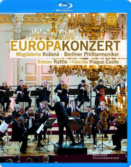Magdalena Kožená, Berliner Philharmoniker, Sir Simon Rattle: Europakonzert 2013 from Prague - BluRay