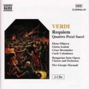 Çeşitli Sanatçılar: Verdi: Requiem - Quattro Pezzi Sacri - CD