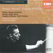 Herbert von Karajan: Britten / Handel / Vaughan Williams - CD
