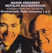 Maxim Vengerov, Mstislav Rostropovich, London Symphony Orchestra: Shostakovich: Violin Concertos 1 & 2 - CD