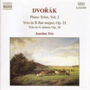 Dvorak: Piano Trio No. 1, Op. 21 / Piano Trio No. 2, Op. 26 - CD
