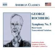 Rochberg: Symphony No. 5 / Black Sounds - CD