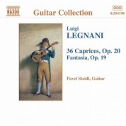 Legnani: Fantasia, Op. 19 / 36 Caprices, Op. 20 - CD