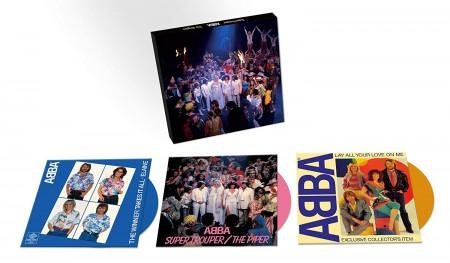 Abba: Super Trouper (Limited Numbered Box Set) (Colored Vinyl) - Single Plak