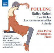 Jean-Pierre Armengaud: Poulenc: Ballet Suites for Piano - CD
