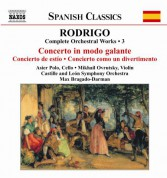 Rodrigo: Concierto in modo galante - Concierto de Estio - CD