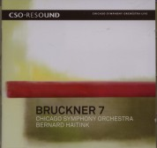 Chicago Symphony Orchestra, Bernard Haitink: Bruckner: Symphony No. 7 - CD