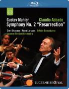 Eteri Gvazava, Anna Larsson, Lucerne Festival Orchestra, Claudio Abbado: Mahler: Symphony No.2 - BluRay