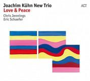 Joachim Kühn New Trio: Love & Peace - CD