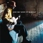 Keb' Mo': Keep It Simple (transparent blue vinyl) - Plak
