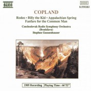 Copland: Appalachian Spring / Rodeo / Billy the Kid - CD