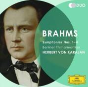 Berliner Philharmoniker, Herbert von Karajan: Brahms: 4 Symphonien Karajan (1986-88) - CD