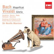 Barbara Hendricks, Academy of St. Martin in the Fields, Sir Neville Marriner: J.S. Bach/ Vivaldi: Magnificat/ Gloria - CD