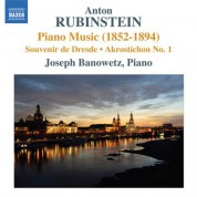 Joseph Banowetz: Rubinstein: Piano Music (1852-1894) - CD