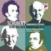 Heinz Holliger, Kammerorchester Basel: Schubert: Symphonies 2 & 3 - CD
