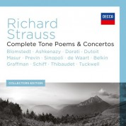Strauss, R: The Complete Tone Poems & Concertos - CD