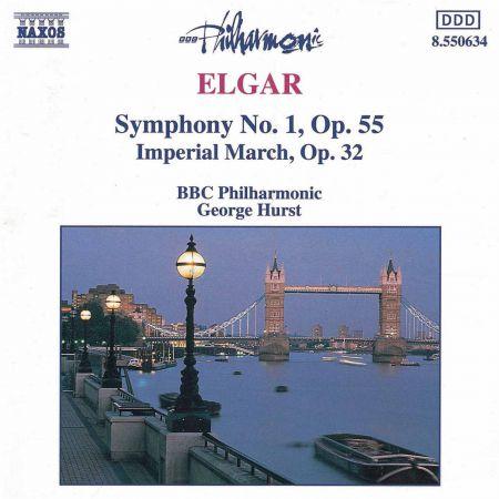 Elgar: Symphony No. 1 / Imperial March - CD