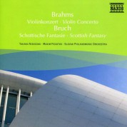 Takako Nishizaki: Brahms: Violin Concerto / Bruch: Scottish Fantasy - CD