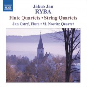 Ryba: 2 String Quartets / 2 Flute Quartets - CD