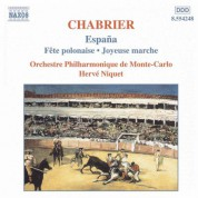 Monte-Carlo Philharmonic Orchestra, Herve Niquet: Chabrier: España - Fête polonaise - Joyeuse marche - CD