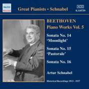 Artur Schnabel: Beethoven: Piano Sonatas Nos. 14-16 (Schnabel) (1933-1937) - CD