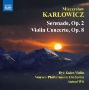 Antoni Wit: Karlowicz: Serenade - Violin Concerto - CD