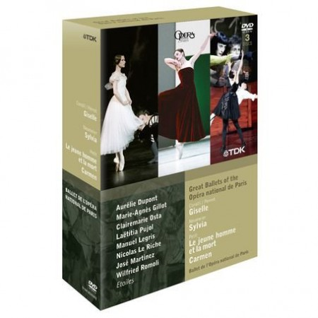 Orchestra & Chorus of the Opéra national de Paris, Paris Opera Ballet: Great Ballets Of The National De Paris - DVD