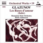 Horia Andreescu: Glazunov, A.K.: Orchestral Works, Vol. 19 - CD