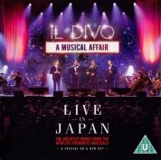 Il Divo: A Musical Affair - Live In Japan - CD