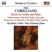 Ida Bieler: Corigliano, J.: Violin and Piano Music - CD
