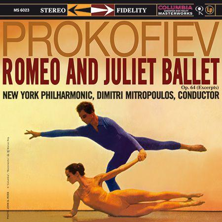 New York Philharmonic Orchestra, Dimitri Mitropoulos: Prokofiev: Romeo And Juliet - Plak