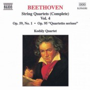 Beethoven: String Quartets Op. 59, No. 1, 'Rasumovsky' and Op. 95, 'serioso' - CD