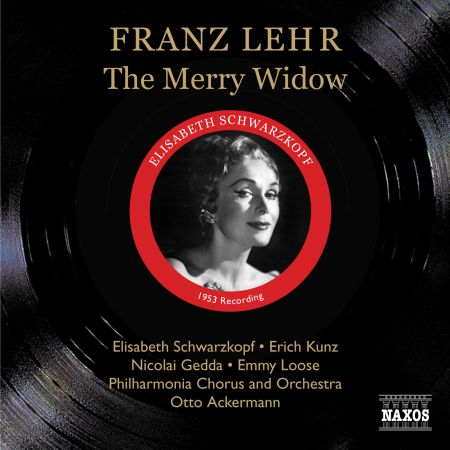 Lehar: Merry Widow (The) (Schwartzkopf, Kunz, Gedda) (1953) - CD