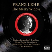 Lehar: Merry Widow (The) (Schwartzkopf, Kunz, Gedda) (1953) - CD