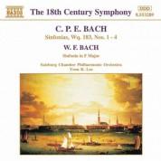 Yoon K. Lee: Bach, C.P.E. / Bach, W.F.: Sinfonias - CD