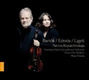 Patricia Kopatchinskaja: Bartok, Eötvös, Ligeti - CD