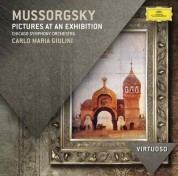Chicago Symphony Orchestra, Carlo Maria Giulini: Mussorgsky: Pictures At An Exhibition - CD