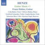 Franz Halasz: Henze, H.W.: Guitar Music, Vol. 1 - CD