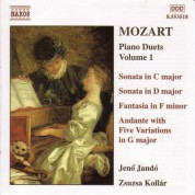 Mozart: Piano Duets, Vol.  1 - CD