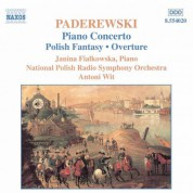 Paderewski: Piano Concerto / Polish Fantasy - CD