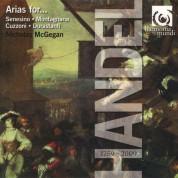 Lorraine Hunt Lieberson, Lisa Saffer, Drew Minter, David Thomas, Nicholas McGegan: Handel: Arias for ... - CD