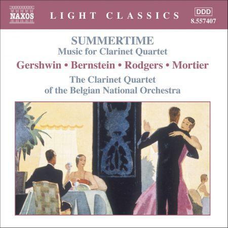 Summertime - Music for Clarinet Quartet - CD