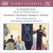 Summertime - Music for Clarinet Quartet - CD
