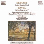 Debussy: String Quartet No. 1 / Ravel: String Quartet in F / Introduction and Allegro - CD