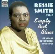 Bessie Smith: Smith, Bessie: Empty Bed Blues (1927-1928) - CD