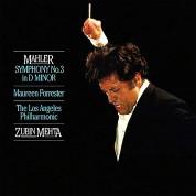Zubin Mehta, Los Angeles Philharmonic Orchestra: Mahler:Symphony No.3 in d Mino Muhler:Symphony No.3 in d Mino - Plak