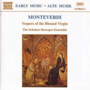 Monteverdi: Vespers of the Blessed Virgin - CD
