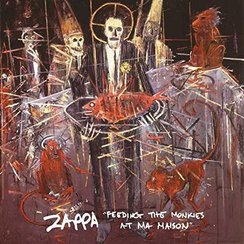 Frank Zappa Feeding The Monkies At Ma Maison Yellow Lp